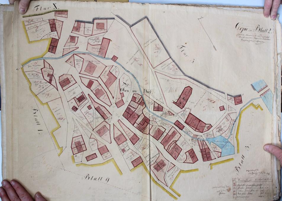 18 I Oben im Dorf 1697