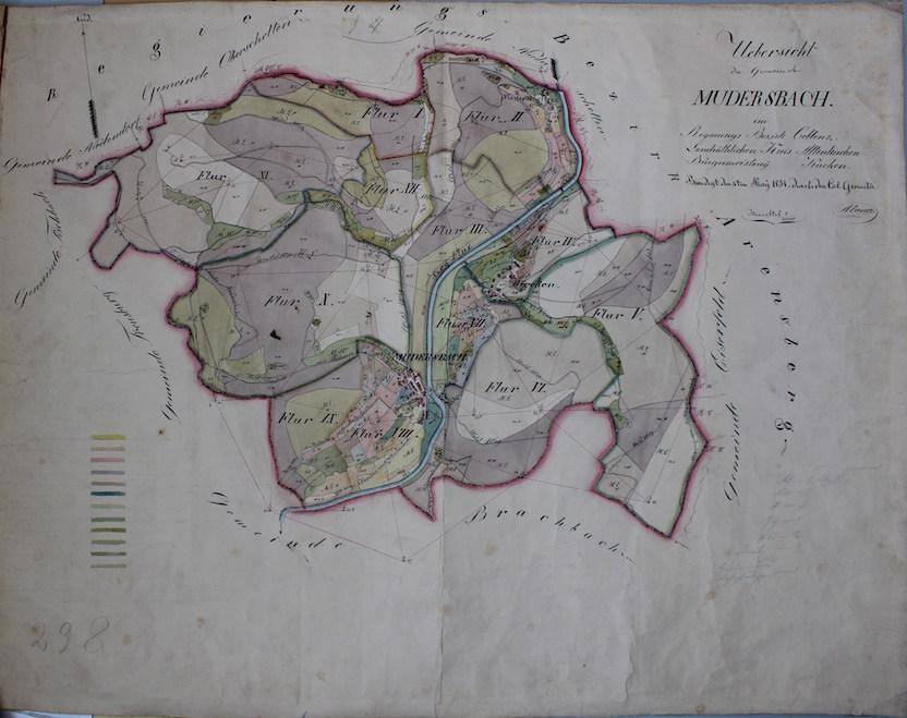 Mudersbach Übersicht Mai 1831